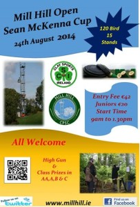 Sean McKenna Cup @ Mill Hill Shooting Grounds | Meath | Ireland